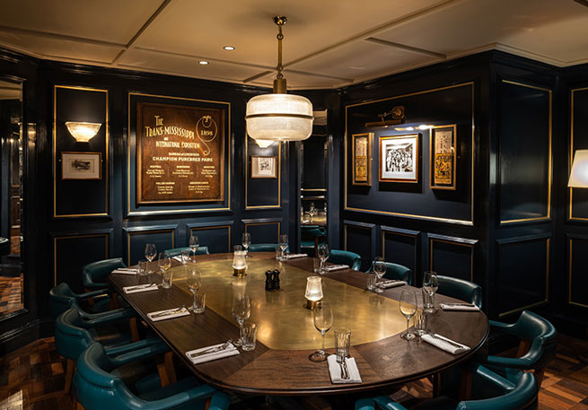 Lord Bronx Private Dining Room