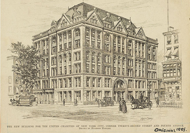 Illustration of the United Charities Building